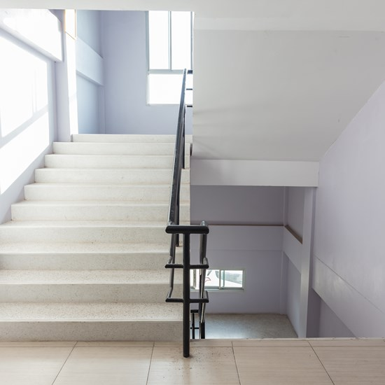 Ventilation solutions for Stairwells