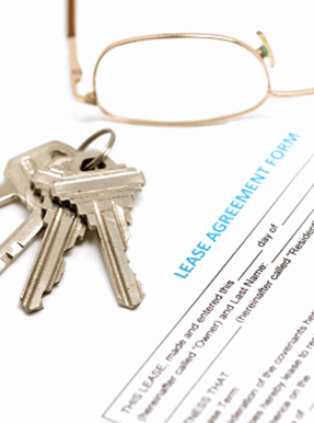 Landlords letting agreement