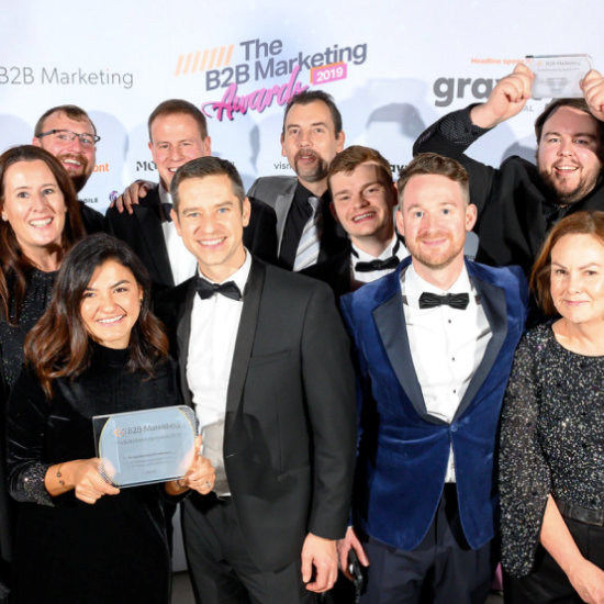 Nuaire Win B2B Marketing Award